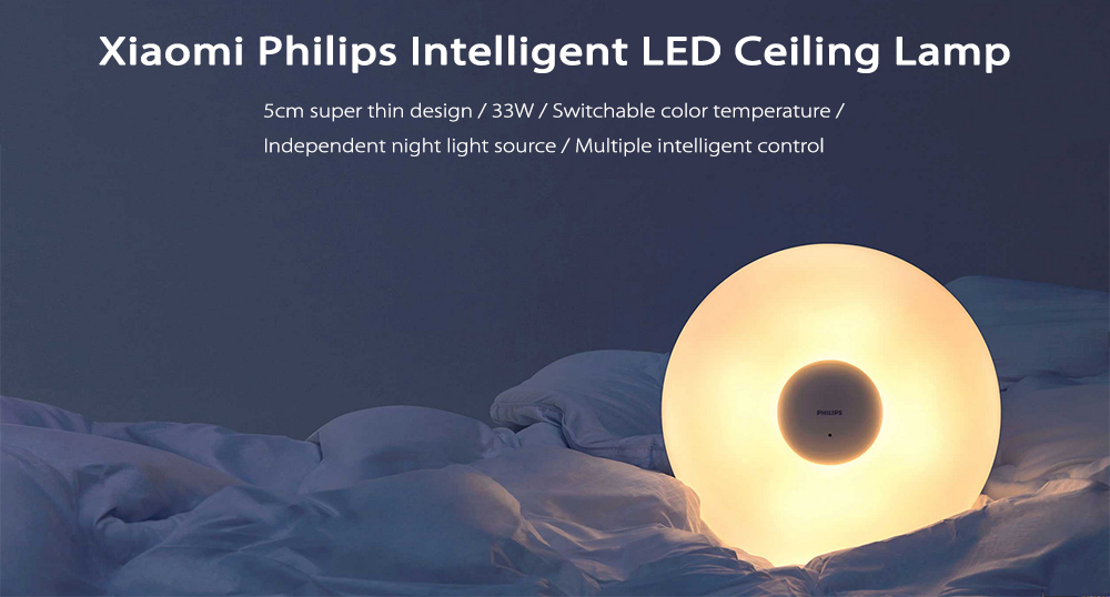Offer Xiaomi Philips LED Ceiling Lamp since 57£