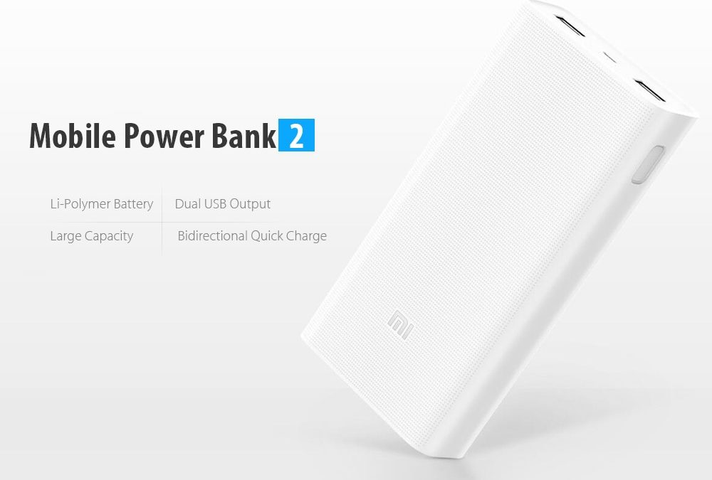 Great deal Xiaomi Power Bank 2 since 14£