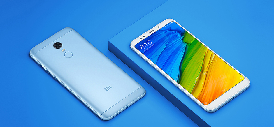 Offer Xiaomi Redmi 5 and 5 plus since 83£