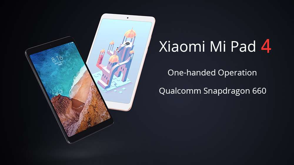 Offer Xiaomi Mi Pad 4 since 148£