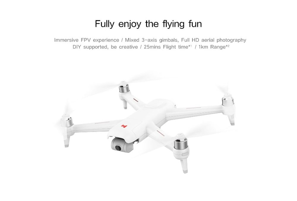 Black Friday! Offer Drone Xiaomi FIMI A3 since 137£