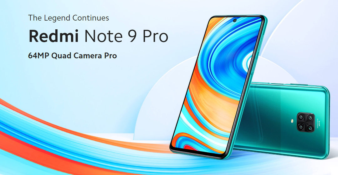 Xiaomi Redmi Note 9 Pro offer since 127£
